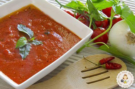 Salsa di pomodoro e basilico come la preparo io