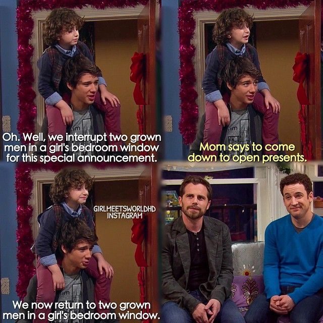 I laughed so hard. This is one of my favorite scenes in Girl meets World.