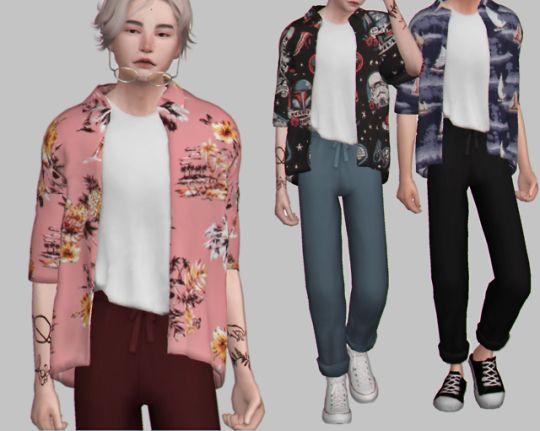 ACC denim jacket at Marigold » Sims 4 Updates