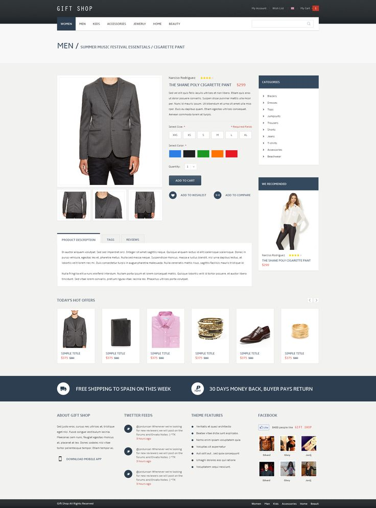 Gift Shop - for eCommerce, WooCommerce - Screenshot 11