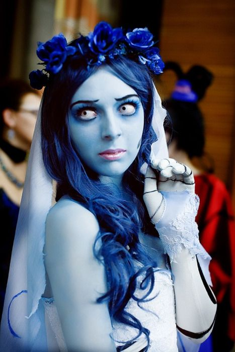 Corpse Bride - I want Blue hair