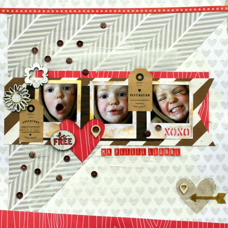 Kit du mois de mai : Les pages de Marie-Anne