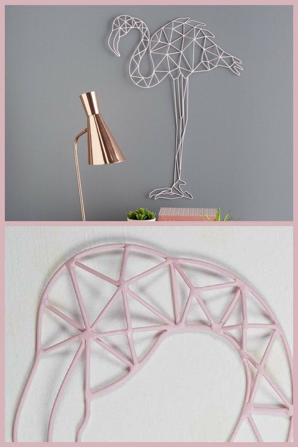 trends diy decor ideas une d coration murale flamant rose maisons du monde une id e de. Black Bedroom Furniture Sets. Home Design Ideas