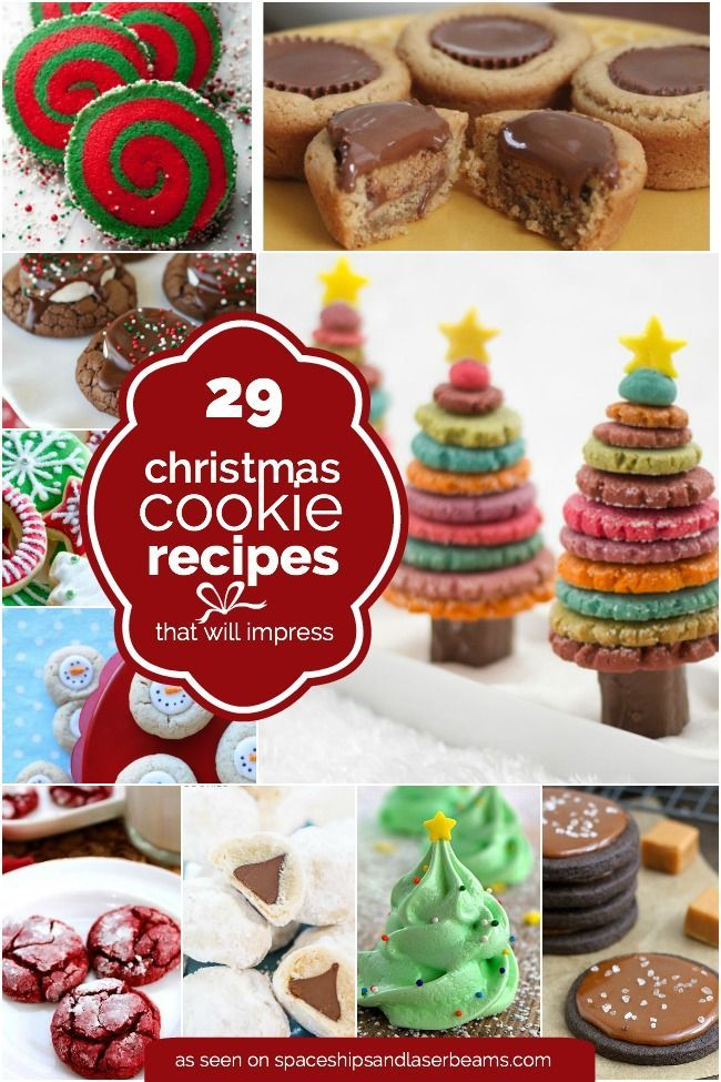 christmas-cookie-recipes http://spaceshipsandlaserbeams.com/blog/2015/12/party-food/29-christmas-cookie-recipe-ideas