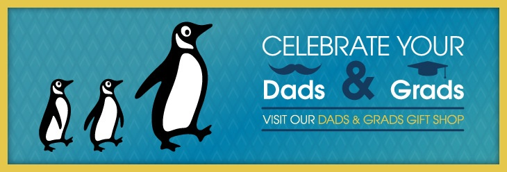 Celebrate Your Dads and Grads. Visit our Dads and Grads Day Gift Shop. //  Just a nice image from Penguin Publishing's web site. :)