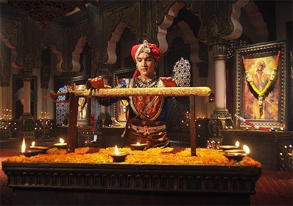 Faizal Khan in Bharat Ka Veer Putra-Maharana Pratap