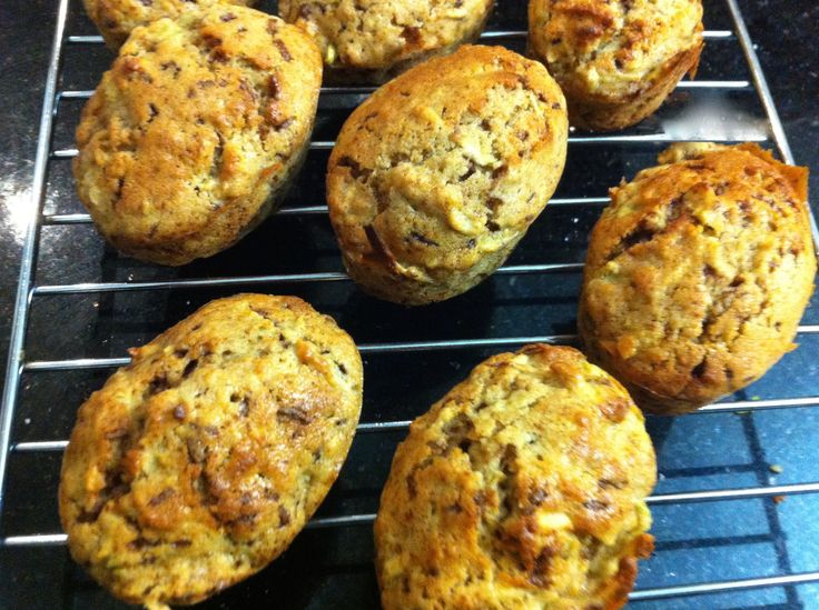 Spicy Apple Cakes. Click below for the recipe!
