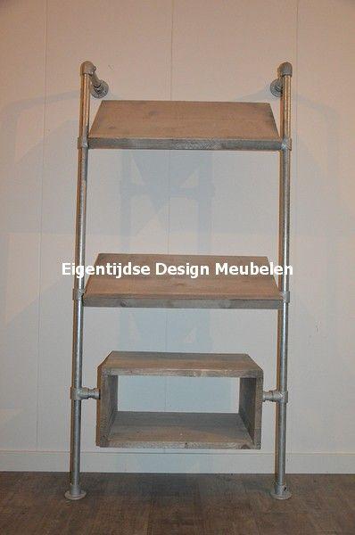 De 101 beste afbeeldingen over steigerbuis binnen meubels op pinterest toevalstreffer - Eigentijdse bed tafel ...