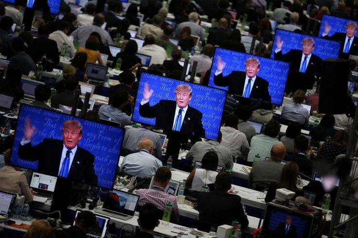El debate presidencial y otras fotos del día (27/09/2016)