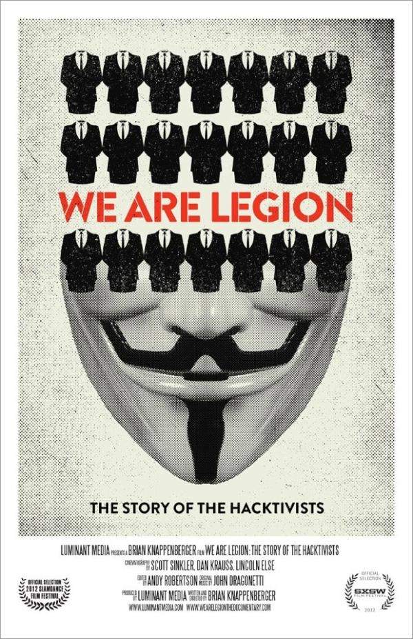 Twitter / AgencyDU: 'WE ARE LEGION' Movie Post