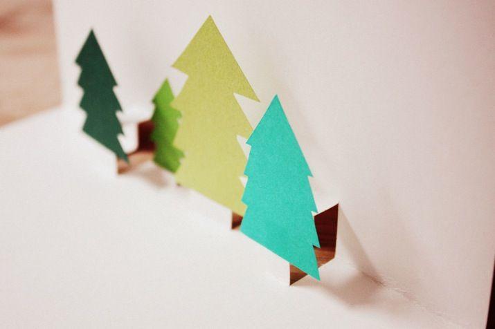 How Tuesday: Pop-Up-Weihnachtskarte | Etsys Deutscher BlogEtsys Deutscher Blog