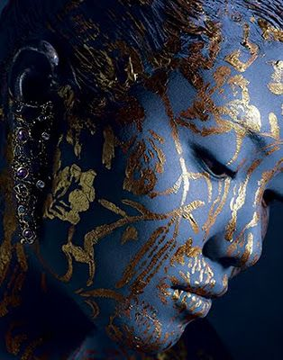 Exquisite...by makeup artist and body painter Joanne Gair