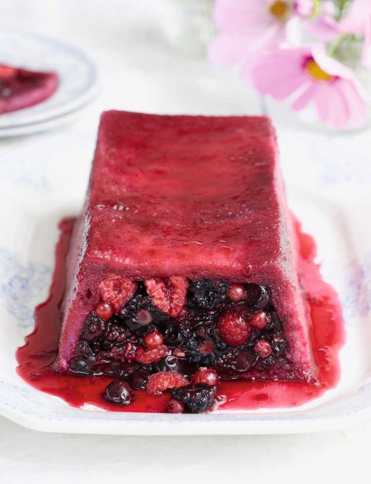 342 best bbc good food images on pinterest british food recipes summer pudding loaf traditional british dessert of mixed berries surrounded with bread syrup this recipe by mary berry is shaped into a loaf for forumfinder Images