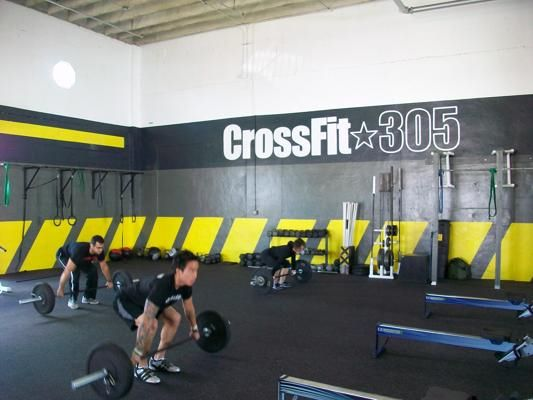 Crossfit Gym Style Ideas