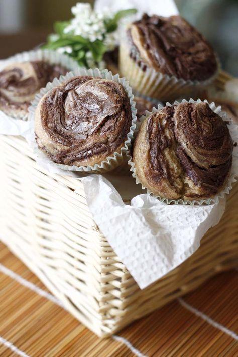 Muffins de Nutella con receta en español