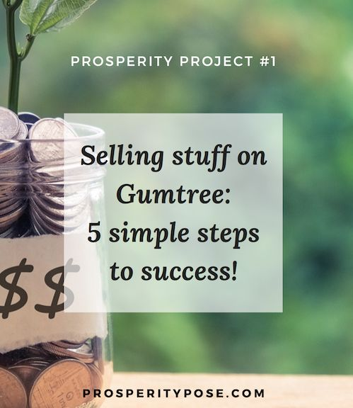 Selling clutter for cash on Gumtree - a five-step guide to success