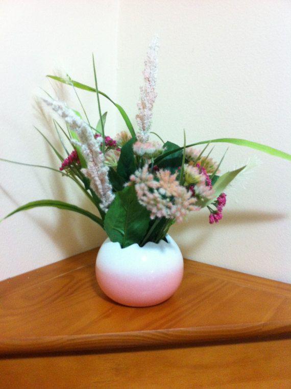 Silk Floral Arrangement/Summer Spring Floral by Universalideas