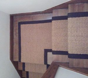 Coir stair carpet