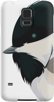 Chickadee Samsung Galaxy Cases & Skins by AnMGoug on Redbubble. #chickadee #bird #samsung #phone