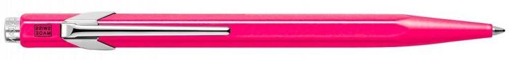 Шариковая ручка автоматическая Caran D'Ache Office Popline синий M 849.590