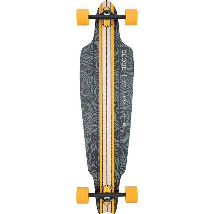 "Globe Prowler 38,5"" (97,8cm) Komplett-Longboard Vint. Black/Paca"