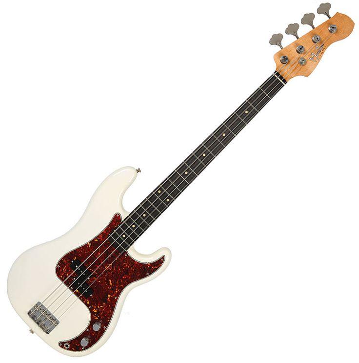 Moollon P Classic Precision Electric Bass 4String White Vintage 60's Sound Ebony #Moollon #PrecisionBass