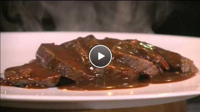 Hertenbiefstuk met wildsaus - recept   24Kitchen