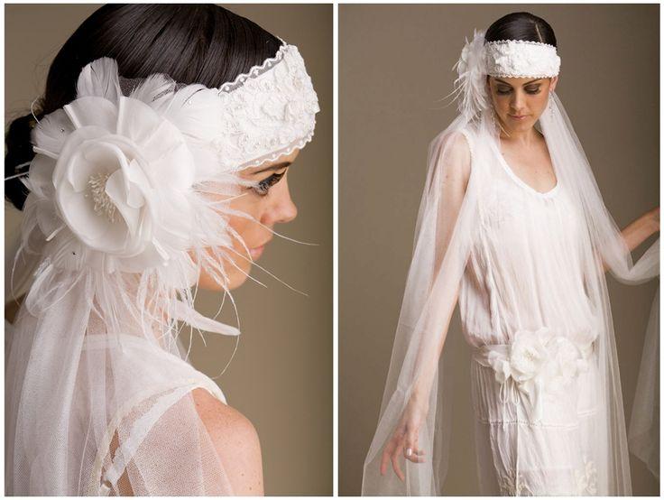 1920'ler Teması: Gelin Saçı Modelleri : Evlilik Günlüğünüz