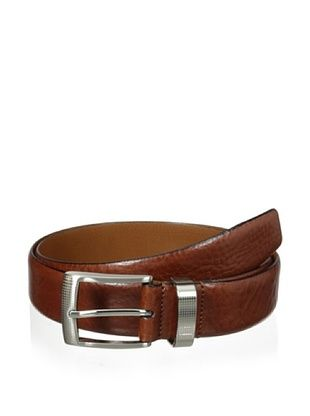 J.Campbell Los Angeles Men's Smooth Leather Belt