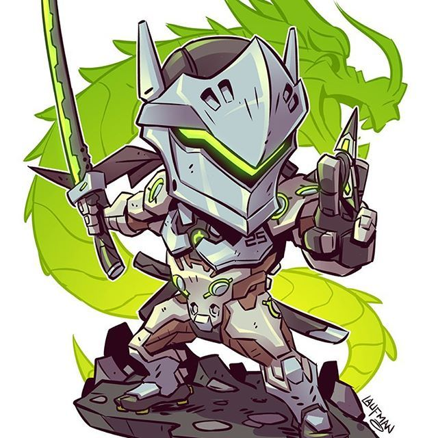 All new chibis are on sale right now at www.dereklaufman.com (link in my profile) Use the promo code SUMMER at checkout to save 25% when you spend $30 or more. Don't miss out! We ship worldwide! #overwatch #genji #chibi #fanart #mangastudio #dereklaufman