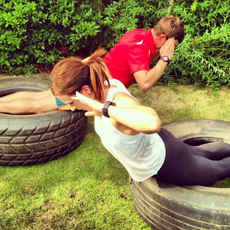Amazing ab workout!!... And it makes it better because a couple that trains…