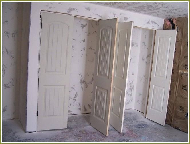 Installing Double Closet Doors Double French Closet Doors Home