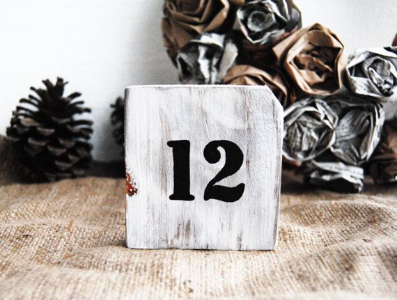 Rustic Wedding Table Numbers, Rustic Wedding Decor, Wooden Table Numbers, barn wood table number, Country wedding, Farmhouse wedding decor