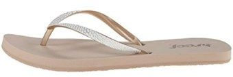 Reef Womens Stargazer Sassy Open Toe Beach Flip Flops Flip Flop Sandals.