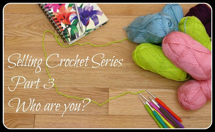 how to make money selling crochet items