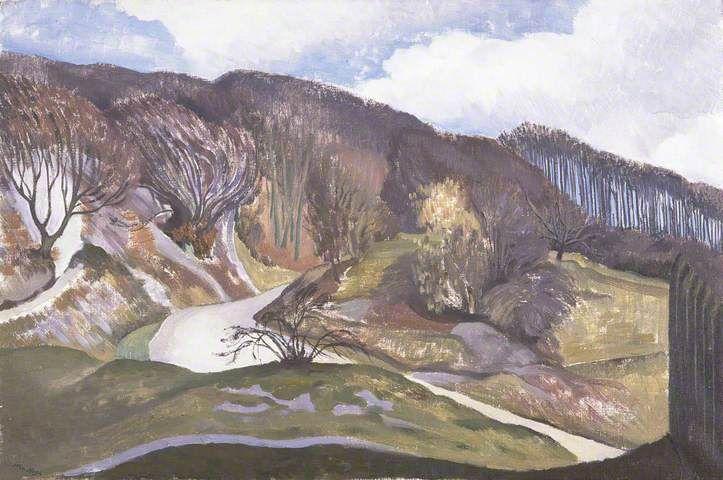 'The Road to Whiteleaf, Buckinghamshire' John Northcote Nash