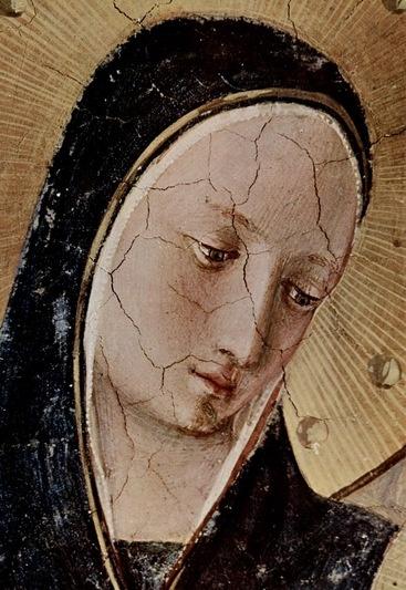 Fra Angelico - Renaissance - Madonna delle Ombre, dettaglio - 1439 (intorno al) o dopo il 1450