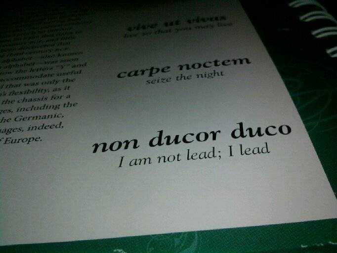 Non ducor duco life and times of a dreamer for Non ducor duco tattoos designs