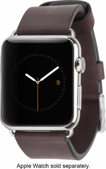 Case-Mate - Signature Smartwatch Band for Apple Watch™ 42mm - Tobacco - Angle…