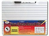 Early Bird Special: The Classics Dry Erase Whiteboard Kit Complete Set with 11.75 x 9 Inches Board Black Dry Erase Pen and Eraser (TPG-388)  List Price: $29.00  Deal Price: $4.49  You Save: $1.24 (22%)  Classics Whiteboard Complete Inches TPG-388  Expires Feb 1 2018