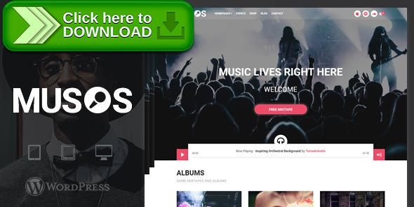 [ThemeForest]Free nulled download Musos - A WordPress Music Theme from http://zippyfile.download/f.php?id=22702 Tags: audio, bands, blog, events, music, shop, video