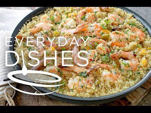 One-pot garlic butter shrimp VIDEO - Everyday Dishes & DIY