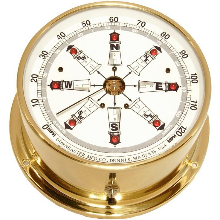 Downeaster Lighthouse Series Wind Speed and Direction Combo with Tru Gust - 3035L