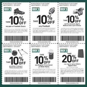 17 best sports authority coupon images on pinterest coupon dicks sporting goods printable coupons for football gear until december 2013 get off football cleats off footballs off pad accessory sports medicine fandeluxe Image collections