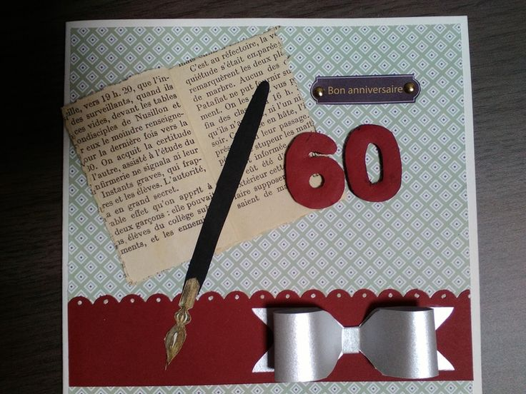 Carte anniversaire 60 ans!