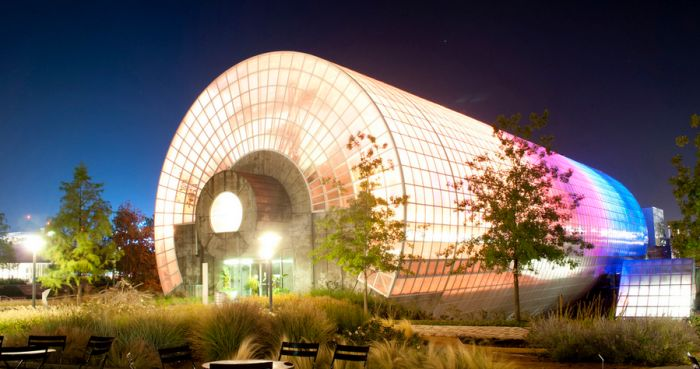 Myriad Botanical Gardens ~ The Myriad Botanical Gardens is a 17-acre botanical garden and interactive urban park located in downtown Oklahoma City. The beautiful grounds will take you on a whimsical adventure.
