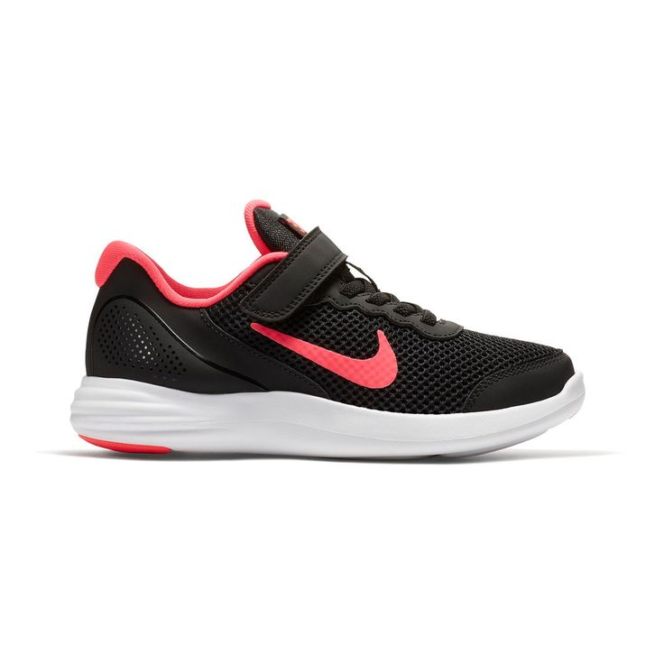 Nike Lunar Apparent Pre-School Girls' Sneakers, Size: 13, Black