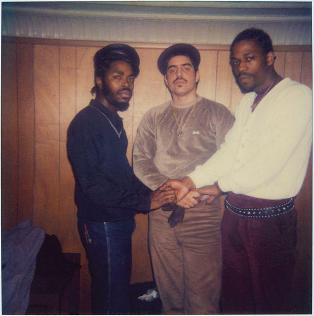 JDL, DJ Disco Wiz, and Grandmaster Caz, 1982.