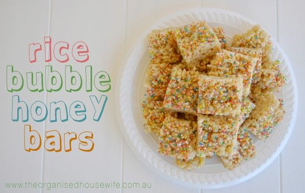 Honey LCM Bars – lactose intolerant friendly » The Organised Housewife