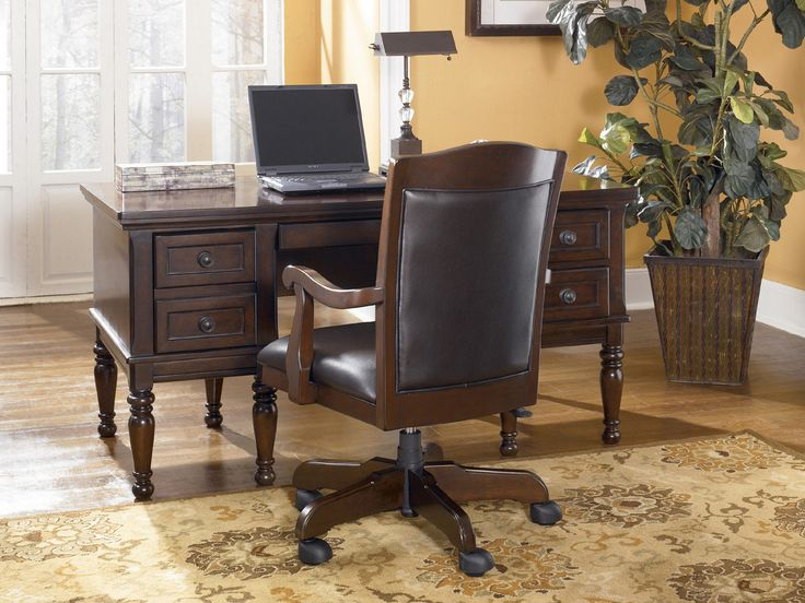 Porter Storage Leg Desk | Ashley | Home Gallery Stores